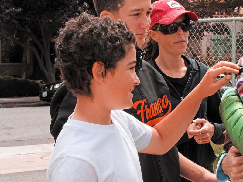 Zack, Jesse, Leila