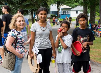Grandkids at Camp Lacota July 18, 2015