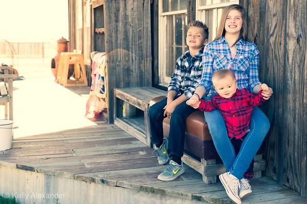 Grandkids at the Farm