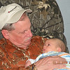 Pop pop Dickie Bradley and great grandson Michael Scott Lindsey.