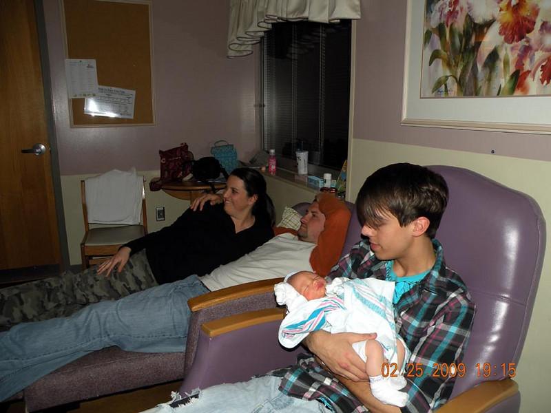 Jared talking to Michael.
