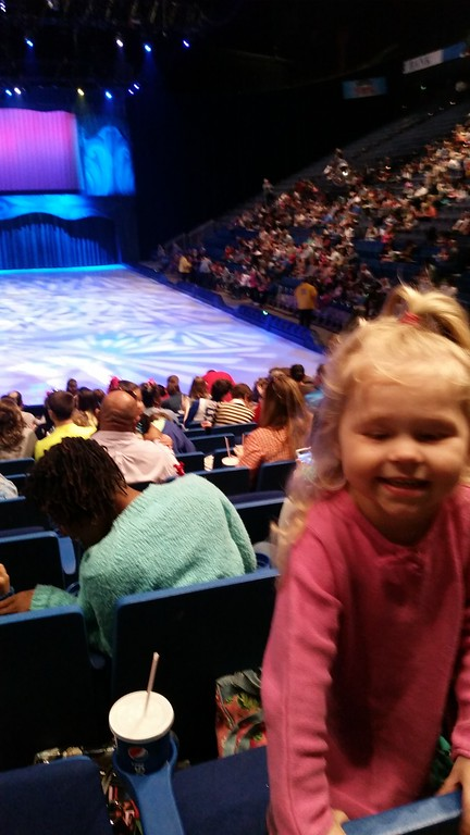 Disney on Ice with Ava 2015