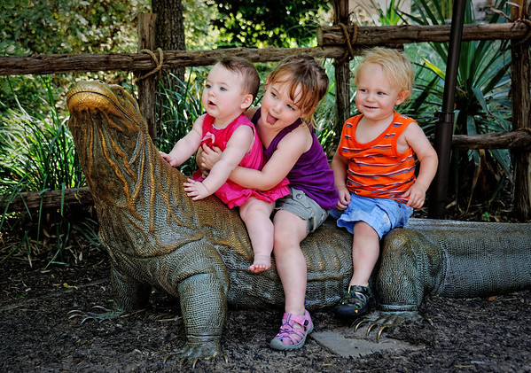 Grandkids at the Zoo