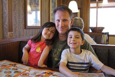 Enjoying Perkins in August, 2009