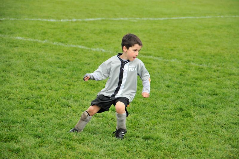 Soccer, October 2009