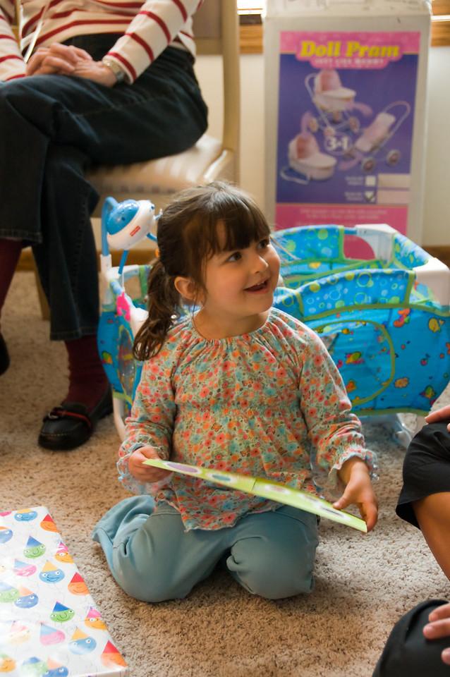 Chayse on her birthday, 2008