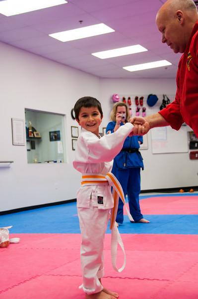 Karate classes, 2009