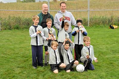 Soccer trophies, October 2009