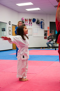 Karate classes, 2009