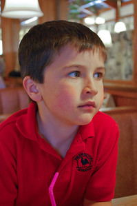Carson being pensive in 2008