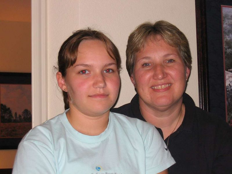 Sarah and Patty Haviland.