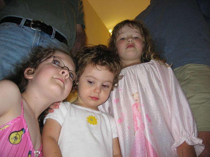 Rowan, Sophie and McKenna.
