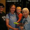 Remeeting Grandma Judy and meeting Ramona at the airport.
