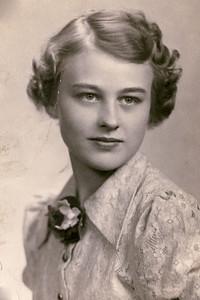 Grandma (Kathryn) Pott-Rozema at age 16