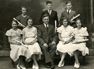 Grandma (Kathryn) 8th grade graduation photo