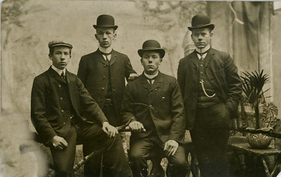 John, Cornelius, Peter, Eisse. Grandpa Potts brothers. Netherlands