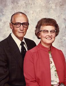 Grandpa (Herman) and Grandma (Kathryn) Rozema