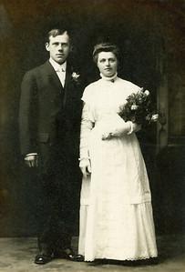Grandpa and Grandma Pott. May 11 1910
