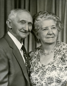 Grandpa (Hermans dad) Rozema and Mary, grandpa's second wife.