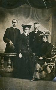 Grandpa and Grandma Pott, Uncle and Aunt Cornelia in the Netherlands.