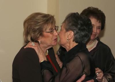 Grandma and Francine Kiss 2