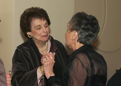 Grandma and Carol Kiss