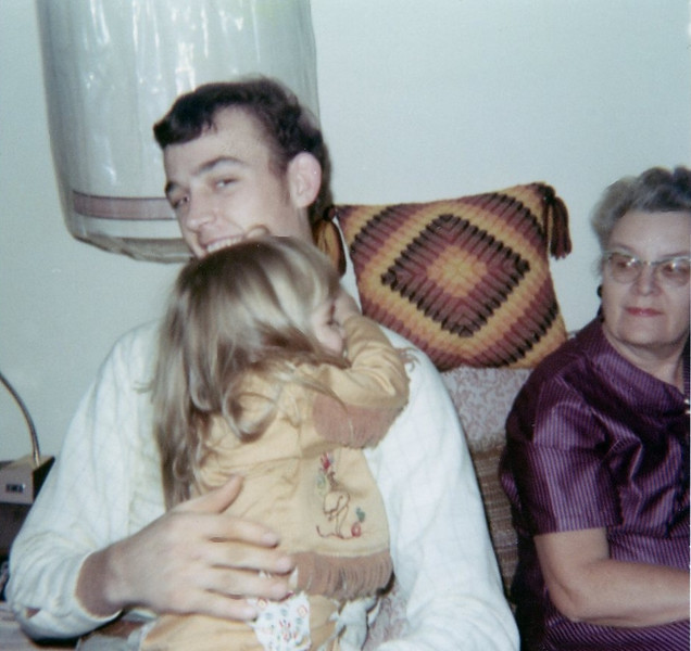 Uncle Gus, Chris & Grandma Rita<br /> 1968ish
