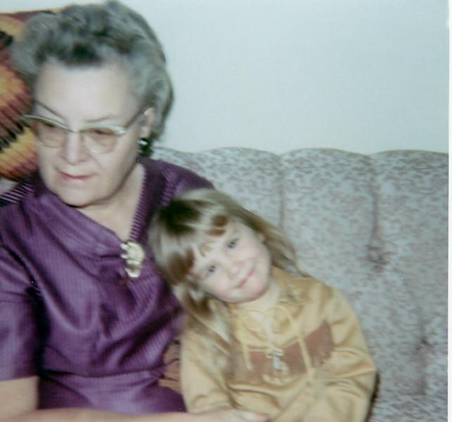 Grandma Rita and Chris<br /> 1968ish