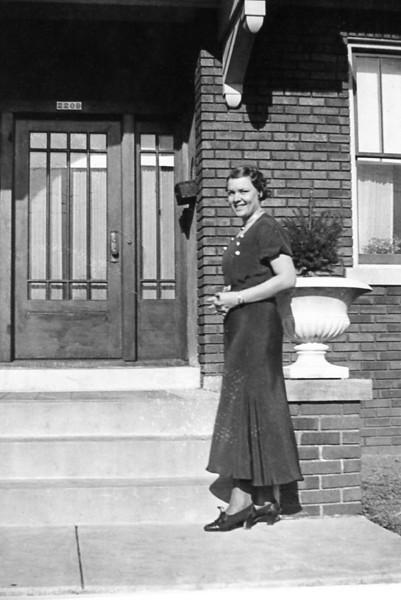 Grandma Rita looking quite stylish