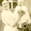 A happy baby Rita Colletta with her mother Anna Margaret Dietrich (nee Ganss)
