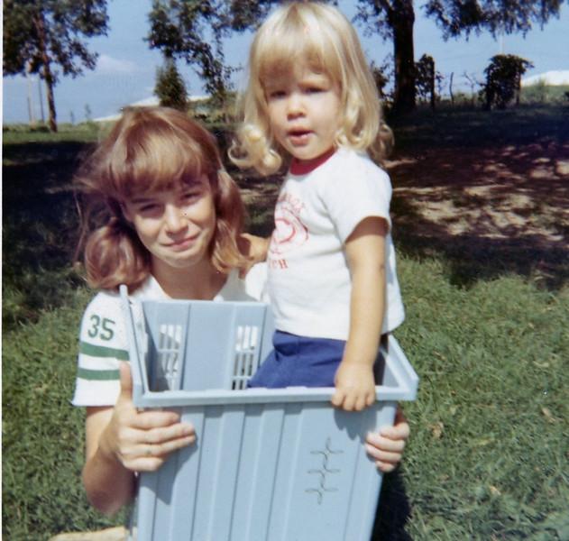 Aunt Nancy and Chris<br /> 1967