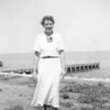 Grandma Rita <br /> 1939<br /> Perhaps she was visiting Sister Mary Ann, given what looks like a Lake Michigan background.