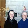 Sister Mary Denis and Sister Mary Ann<br /> Christmas 1974<br /> Sister Mary Denis was Grandpa Edward's sister (born Mary Ann). She entered the Precious Blood Convent in O'Fallon, Missouri.