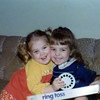 Cousins Jennifer and Lisa<br /> 1974