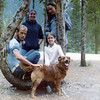 Uncle Gary, Aunt Nancy, Pat, Chris & Duke the Dog<br /> Colorado 1975