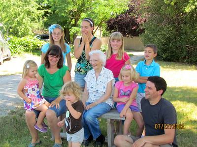 Grandma Ruth's Family