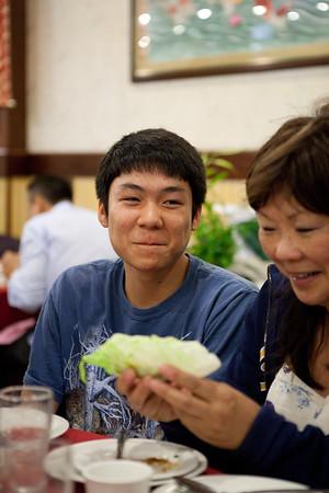 Grandma Wong Birthday Dinner 2011
