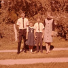 With LaMar, Bev, and Stanley right after our honeymoon.