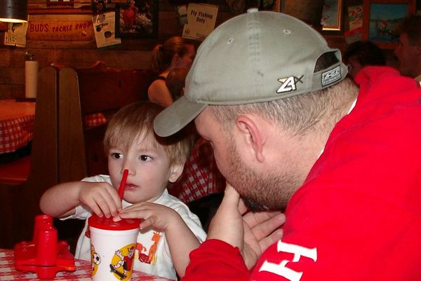 <br><br><font size=3>Jake and Uncle Eric.</font>