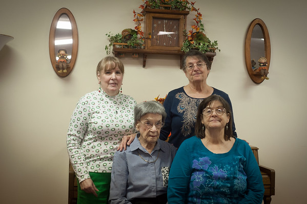 PIctures from Grandma Louise's Birthday get together.