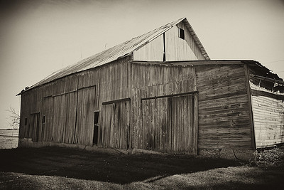 The old barn.