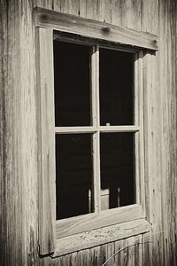 Old barn window.