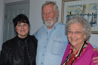 Len, Lee and Grandma.