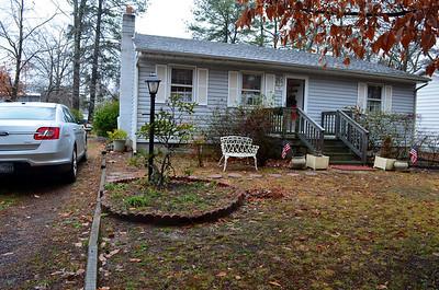 Front yard at Grandma Scott's house in Harftied, VA.
