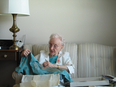 Grandmother's Birthday 2007