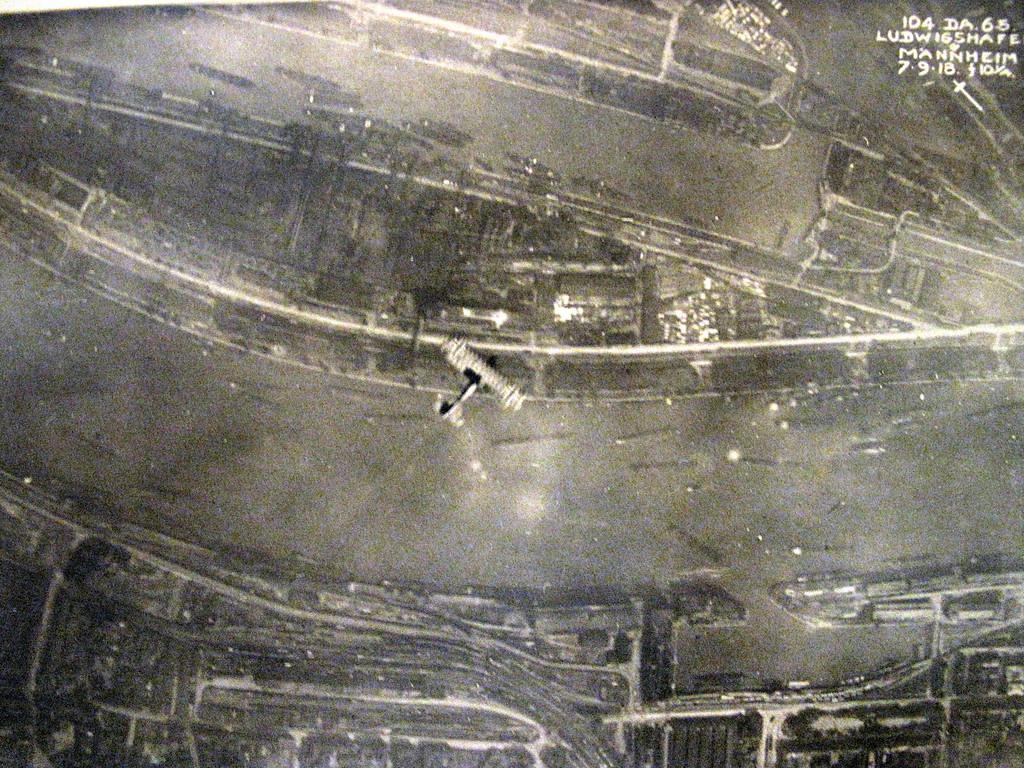German Biplane below.