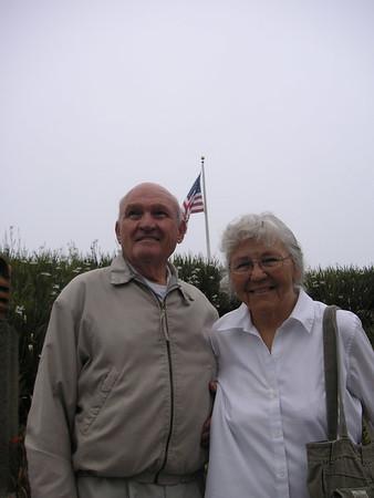 Grandpa + Grandma Meakin