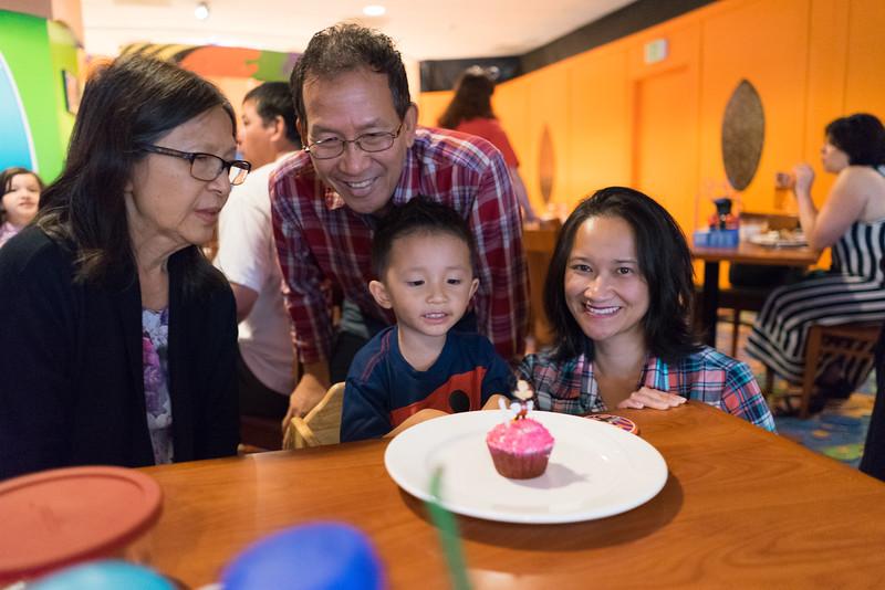 Happy fourth birthday, Noah