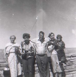 dick & family at grand canyon