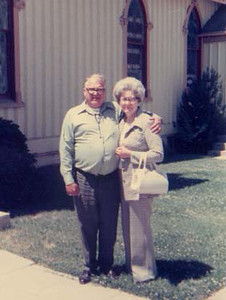 dick & mary in front of chapel